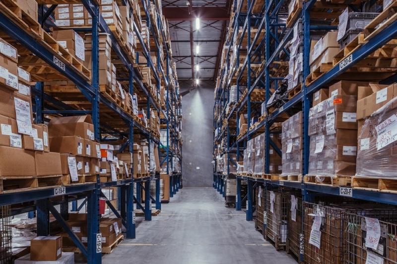 Inside the Hemlock Harling warehouse